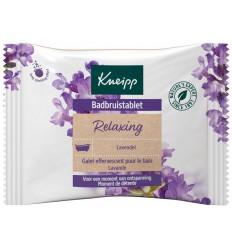 Kneipp Badbruistablet lavendel 80 gram | Superfoodstore.nl