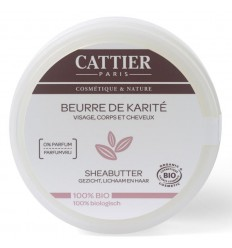 Cattier Sheabutter 100 gram | Superfoodstore.nl