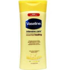 Vaseline Bodylotion essential healing 200 ml | Superfoodstore.nl