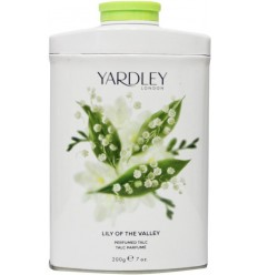 Yardley Lily talc tin 200 gram | Superfoodstore.nl