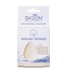 Skoon Konjac spons pure | Superfoodstore.nl