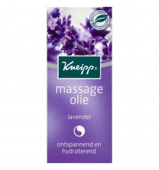 Kneipp Massageolie lavendel mini 20 ml | € 1.52 | Superfoodstore.nl