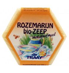 Natuurlijk zeep De Traay Zeep rozemarijn / stuifmeel 100 gram