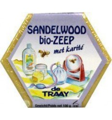 De Traay Zeep sandelhout bio 100 gram | € 2.20 | Superfoodstore.nl