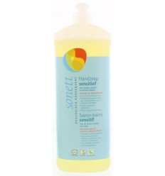 Sonett Handzeep sensitive 1 liter | Superfoodstore.nl