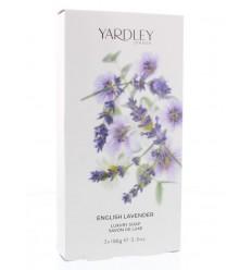 Natuurlijk zeep Yardley Lavender zeep 100 gram 3 stuks kopen
