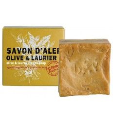 Aleppo Soap Co Aleppo zeep olijf en laurier 100 gram  