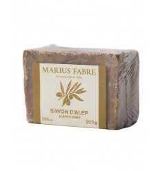 Marius Fabre Aleppo zeep 200 gram   Superfoodstore.nl