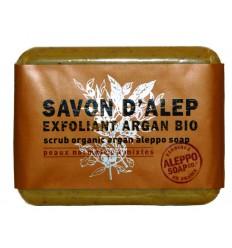 Aleppo Soap Co Aleppo zeep exfoliant argan 100 gram  
