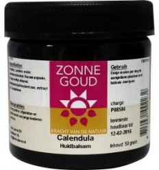 Zonnegoud Calendula balsem 50 gram | € 8.39 | Superfoodstore.nl
