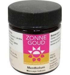 Lichaamsverzorging Zonnegoud Mentholum balsem 30 gram kopen