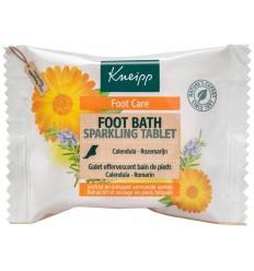Kneipp Voetbadbruistablet single use 80 gram   Superfoodstore.nl