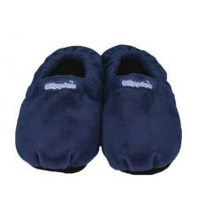 Warmies Slippies maat 8-11 (41 - 45) donker blauw 1 paar |