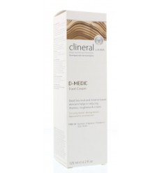Ahava Clineral D-medic foot cream 125 ml | Superfoodstore.nl