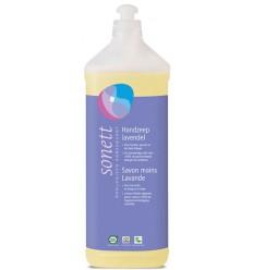 Sonett Handzeep lavendel vloeibaar 1 liter | € 9.11 | Superfoodstore.nl