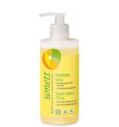 Sonett Handzeep citrus vloeibaar 300 ml | Superfoodstore.nl