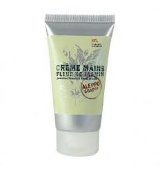 Aleppo Soap Co Handcreme jasmijn 75 gram   Superfoodstore.nl