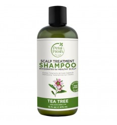 Petal Fresh Shampoo tea tree 475 ml | Superfoodstore.nl