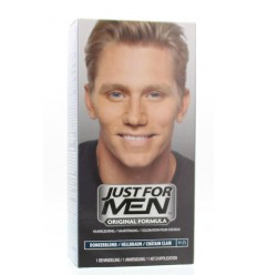 Just For Men Donker blond H25 voorheen blond 2 X 30 ml 1 set |