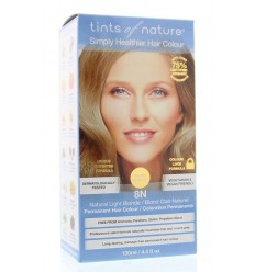 Tints Of Nature 8N natural blond 1 set | Superfoodstore.nl