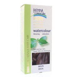 Henna Cure & Care Watercolour bruin 5 gram | Superfoodstore.nl