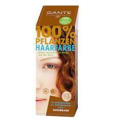 Haarverf Sante Naturkosmetik Haarverf notenbruin BDIH 100 gram