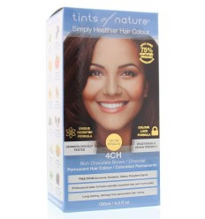 Tints Of Nature 4CH chocolade 130 ml | Superfoodstore.nl