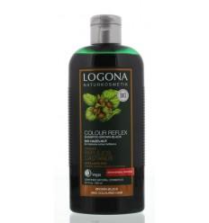 Logona Kleurshampoo bruin zwart hazelnoot 250 ml |