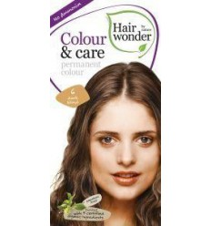 Hairwonder Colour & Care 6 dark blond 100 ml | Superfoodstore.nl