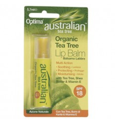 Optima Australian tea tree lip balsem 6 gram | Superfoodstore.nl