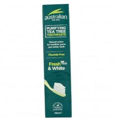 Optima Australian tea tree tandpasta fresh & white 100 ml | € 5.52 | Superfoodstore.nl