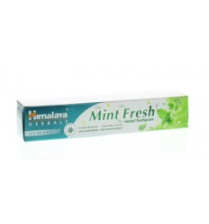 Himalaya Mint fresh kruiden tandpasta 75 ml | € 2.83 | Superfoodstore.nl