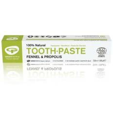 Green People Tandpasta fennel & propolis 50 ml | € 4.34 | Superfoodstore.nl