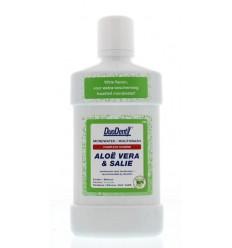 Duodent Mondwater aloe vera / salie 500 ml | Superfoodstore.nl