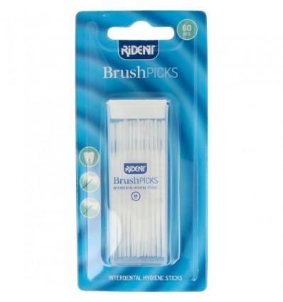 Rident Brushpicks 60 stuks