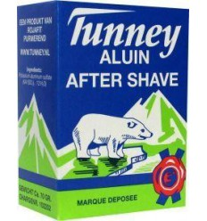 Tunney Aluinblokje after shave 70 gram | Superfoodstore.nl