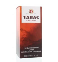 Tabac Original pre electric shave splash 100 ml | € 17.38 | Superfoodstore.nl