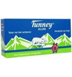 Scheeraccessoires Tunney Aluinblokje actie 2 + 1 gratis 3 stuks