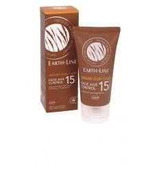 Earth-Line Argan sun face F15 50 ml | Superfoodstore.nl