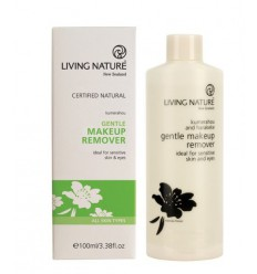Living Nature Oog makeup remover 100 ml | € 16.36 | Superfoodstore.nl