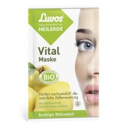 Luvos Crememasker vital 7.5 ml 2 stuks | Superfoodstore.nl
