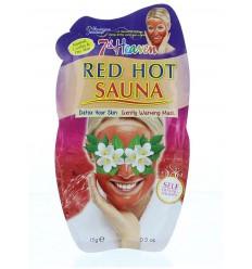 Montagne 7th Heaven gezichtsmasker red hot earth sauna 15 gram