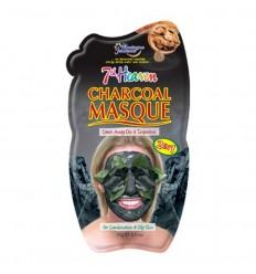 Montagne 7th Heaven gezichtsmasker charcoal 10 ml | € 1.54 | Superfoodstore.nl