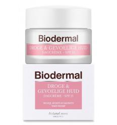 Biodermal Dagcreme droge en gevoelige huid 50 ml |