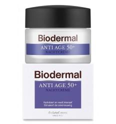 Biodermal Nachtcreme anti age 50+ 50 ml | Superfoodstore.nl