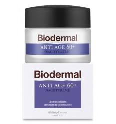 Biodermal Nachtcreme anti age 60+ 50 ml | Superfoodstore.nl
