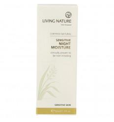Living Nature Nachtcreme gevoelige huid 50 ml   € 21.32   Superfoodstore.nl