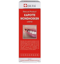 DR Fix Kapotte mondhoeken creme 15 ml | Superfoodstore.nl