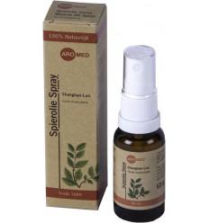 Aromed Shanghan-Lun Spierolie spray 20 ml   Superfoodstore.nl