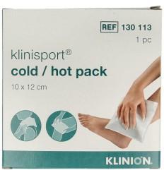 Klinisport Koud-warm kompres 10 x 12 cm   Superfoodstore.nl